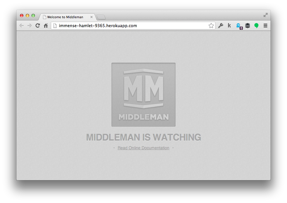 Welcome to Middleman