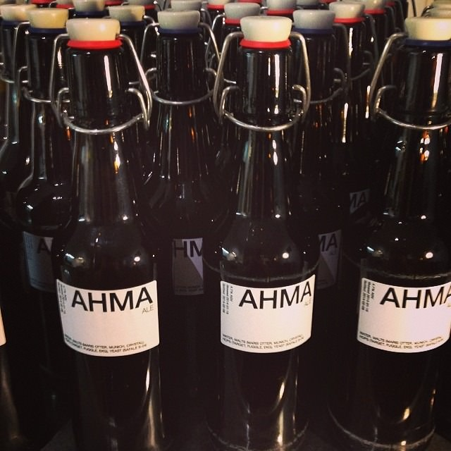 My Ahma Ale has been bottled!