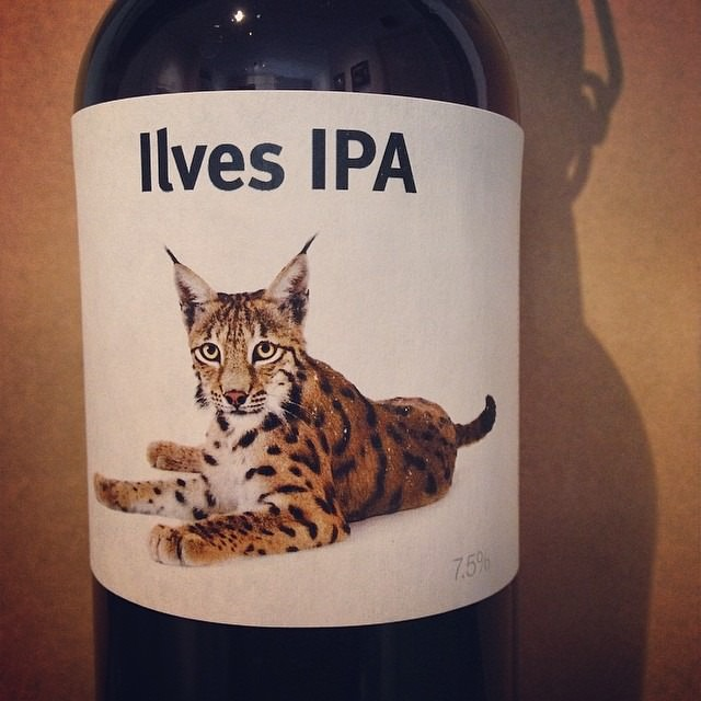 Ilves IPA v2 labelled